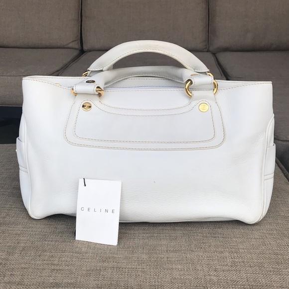 984252b962 Celine Handbags - Celine Boogie bag white